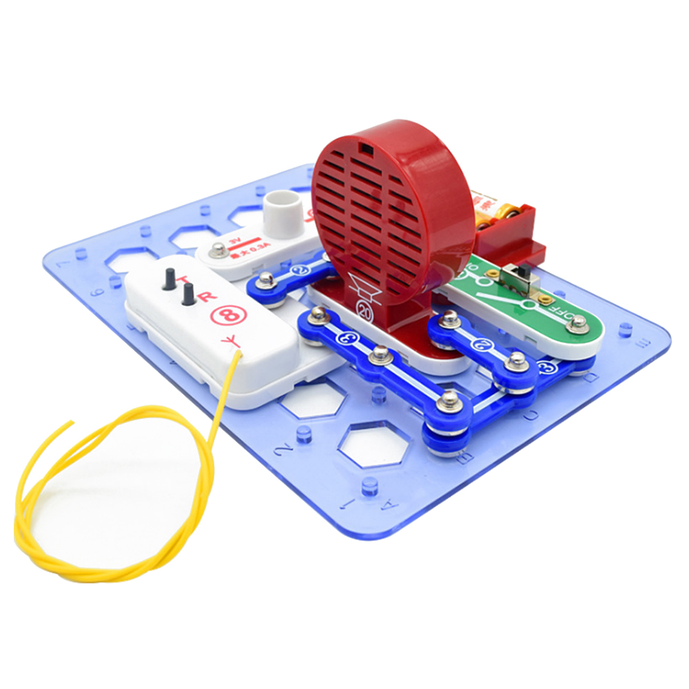 dd38fb681 Science Kids Toys Electronic Building Blocks Assembled Bricks Toy Snap  Circuits Educational DIY Science Toy -in Blocks from Toys & Hobbies on  Aliexpress.com ...
