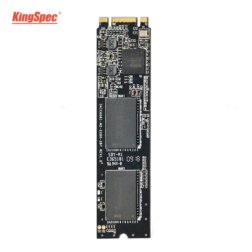 Kingspec M2 SSD 1TB NGFF 2280 SATA Signal Disco Duro SSD M.2 6GB/s Internal Solid Hard Drive HD Disk Module for Ultrabook/Laptop