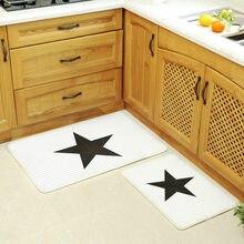 Коврик для кухни в Корейском стиле от paysota черный белый коврик