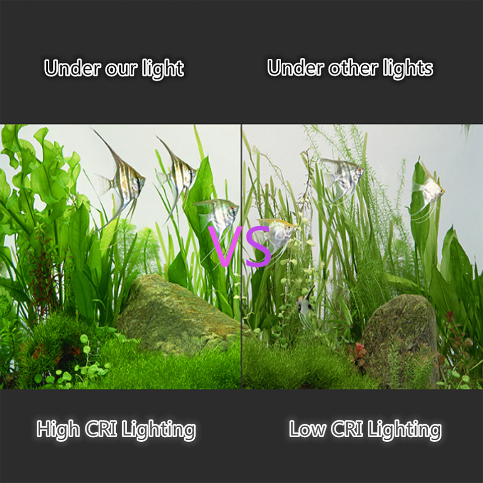 Super Bright LED Aquarium Lights LED Plants Grow Light 5W/10W/15W Aquatic Freshwater Lamps Waterproof Clip on Lamp For Fish Tank 10