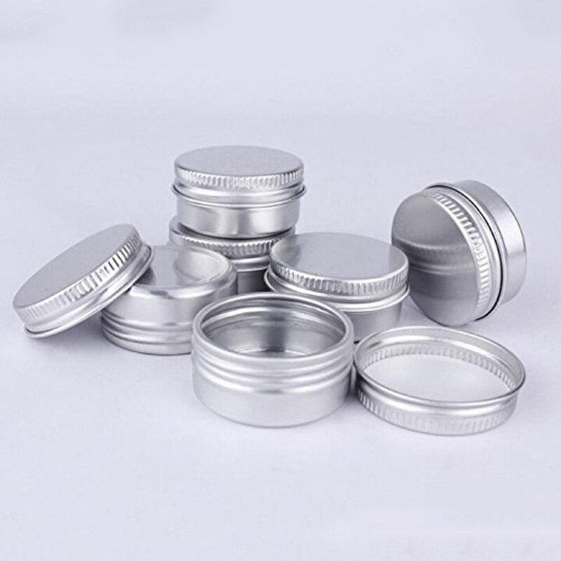 Pacote de 10 Pote Jar Lábio Parafuso Capacidade