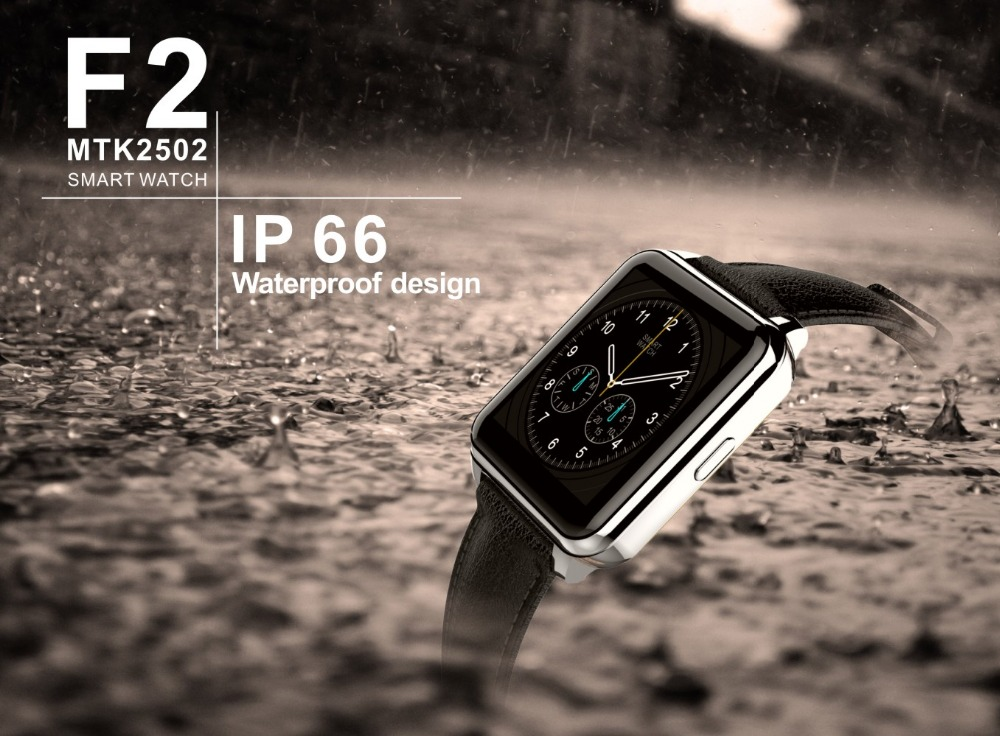 F2 smart watch Than GT08 DM09 for Iphone Android phone IP67 waterproof font b smartwatch b