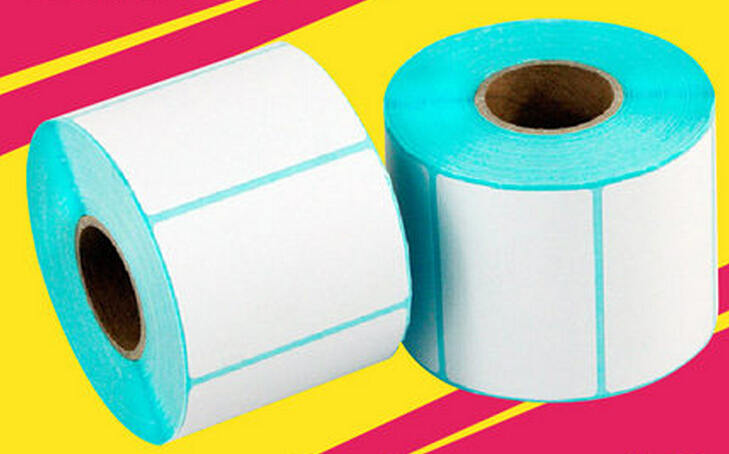 JP-4030 Thermal Label Paper Bar Code Paper Self-adhesive Paper Thermal Sticker Paper 40*30mm 800PCS/ROLL, 2rolls/Lot