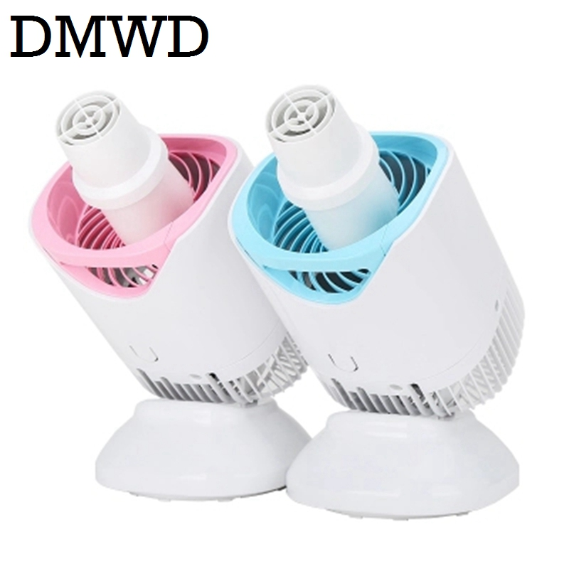 DMWD electric cloth dryer Mini Moisture Absorbing air dehumidifier household Spiral Garment warm wind clothes drying machine EU 2016 new clothes dryer drying shoe dryer machine travel portable multifunctional warm quilt machine d1602