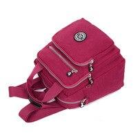 New Women Backpack Fashion Backpacks For Teenage Girls Waterproof Nylon Backpack School Bags Mochila Sac A