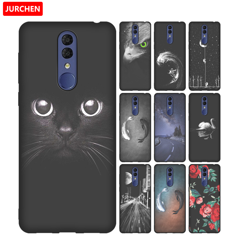 Case For Alcatel 3 2019 Case Soft Tpu Silicone Back Cover For Alcatel 3 Alcatel3 2019 Case Cover Funda Cartoon Printing