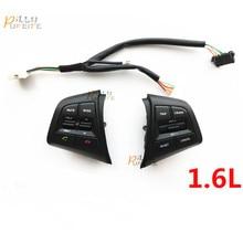 Envío libre Para Hyundai ix25 (creta) 1.6L Volante Control de Velocidad Botones Botón de Volumen de Control Remoto Bluetooth