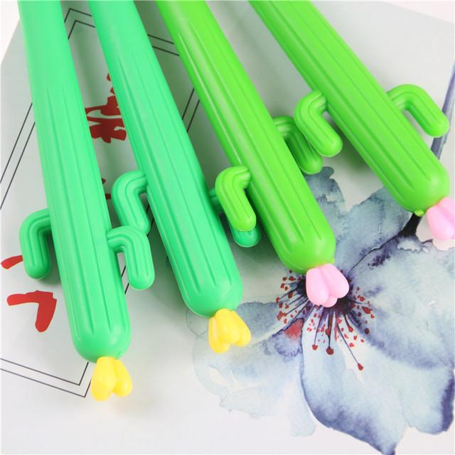 2 PCS Cactus Gel Pens