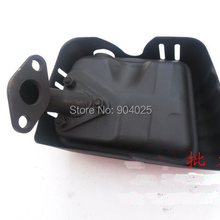 Mufflers GM182 154F gasoline engine muffler silencer exhaust pipe