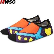 MWSC Novelty Design Unisex Woman Fashion Slippers Waterproof Casual Shoes Soft Light Flat with Sandals Aqua Socks Shoes