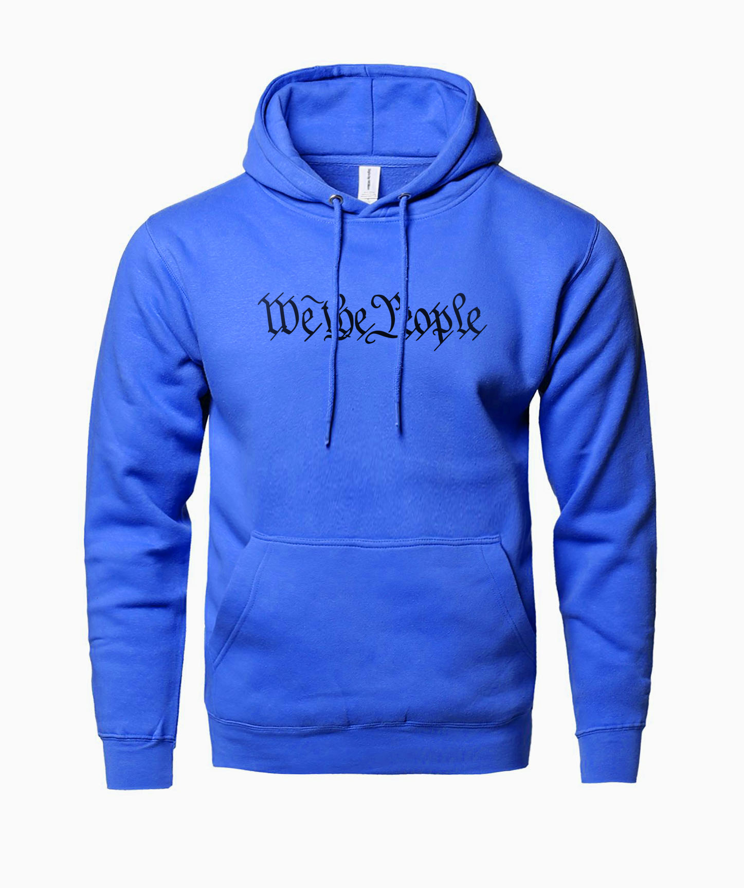 We The People Letters Print Fashion Brand Hoodies 2019 Spring Autumn Sweatshirts Hoodie Men Harajuku Hipster Men's Hoody Poncho