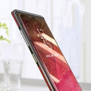 Image 5 - Luphie מעוקל מתכת פגוש עבור Samsung Galaxy הערה 9 מקרה הערה 8 עבור iphone X Xs Max Xr 8 7 בתוספת אולטרה דק אלומיניום מסגרת כיסוי