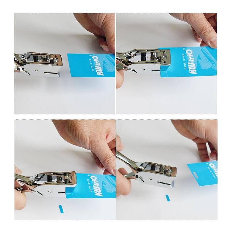 4*15mm Hole Punch for Credentials Card ; Slot punch hand held Single ...