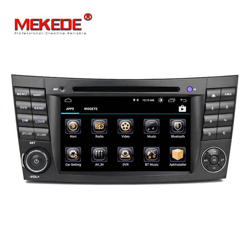 Бесплатная доставка Android 8,1 Quad core Автомобиль Радио Стерео gps плеер для Benz W211 W219 W463 CLS350 CLS500 CLS55 E200 E220 E240 E270