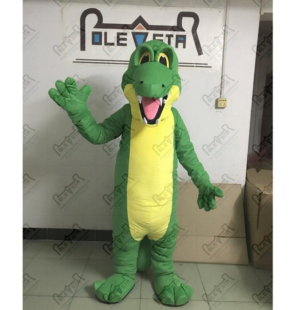 EVA foam head quality crocodile mascot costumes cartoon green dinosaur mascot costumes  sc 1 st  AliExpress.com & EVA foam head quality crocodile mascot costumes cartoon green ...