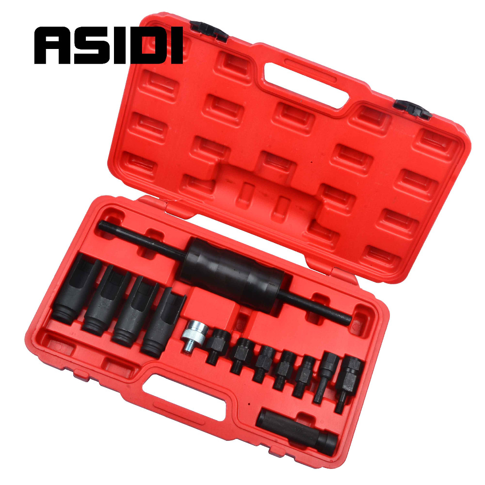 Common Rail Adaptor Injection Injector Puller Set Diesel Injectors Tool Kit