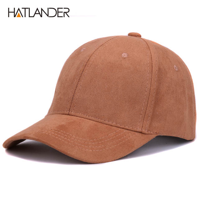 a25d14a99ce Online Shop Plain Suede baseball caps with no embroidered casual dad hat  strap back outdoor blank sport cap and hat for men and women