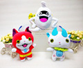 Free Shipping EMS 36/Lot Yo-Kai Watch Ghost Komasan Jibanyan Whisper Plush Stuffed Figure 8""
