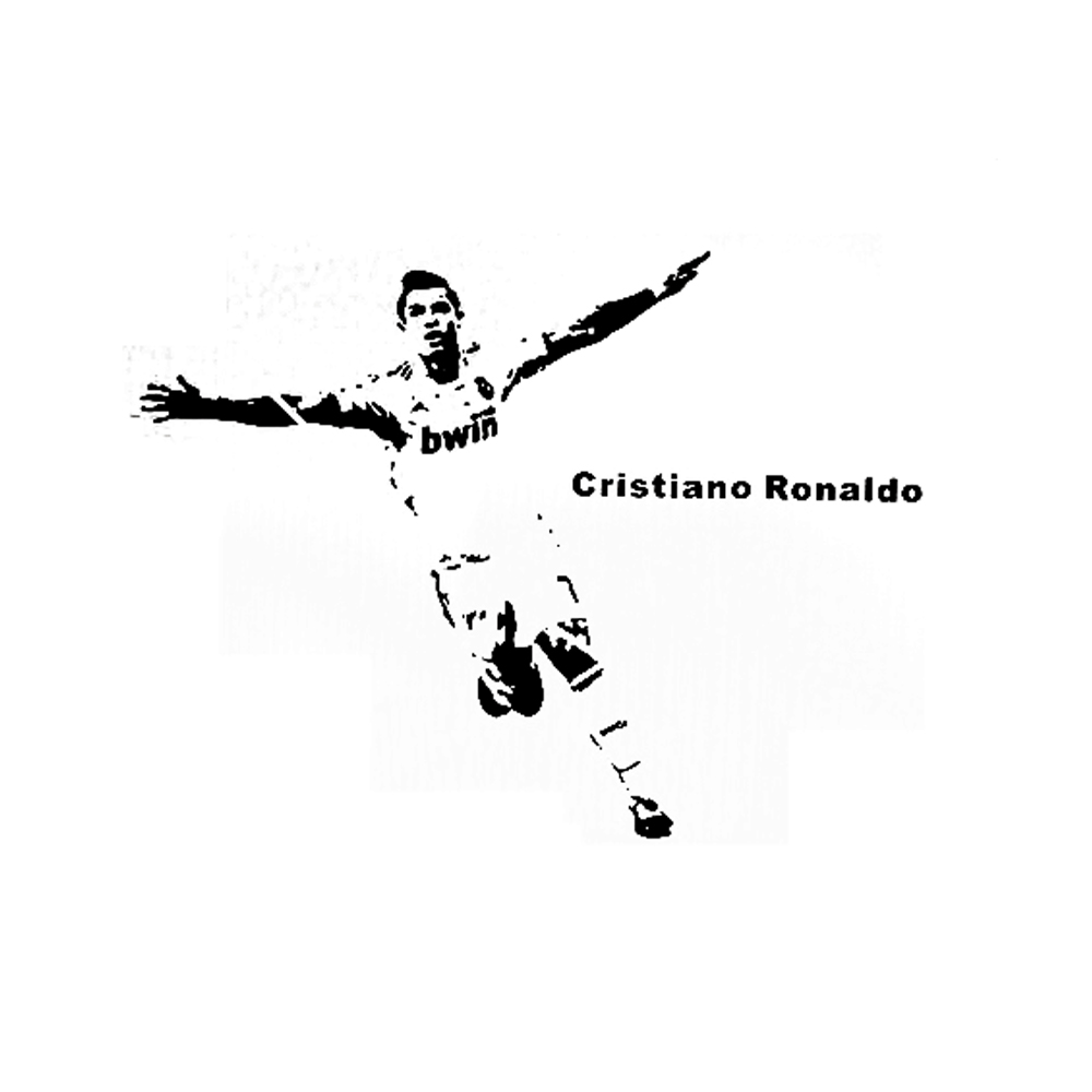 Re3d wall sticker football celebrity c ronaldo wall stickers for re3d wall sticker football celebrity c ronaldo wall stickers for kids rooms self adhesive removable 3d wallpapers in wall stickers from home garden on amipublicfo Image collections
