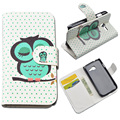 JR Stand Style PU Leather Cover For Samsung Galaxy Star Pro S7260 S7262 Plus GT-S7262 GT-S7260 Case Painting Pattern Phone Bag