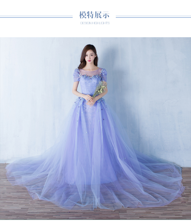100%real light blue lace small silk flower court gown medieval dress ...