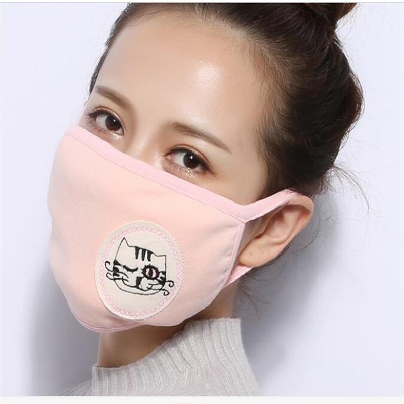 10pcs/Bags dust protection mask bouche homme mond doek three-dimensional cotton fashion mouth