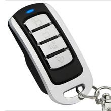 868 MHZ Controle Remoto Sem Fio Botão 4 Elétrica Controle Remoto Universal Da Porta Da Garagem do Metal fácil de Copiar