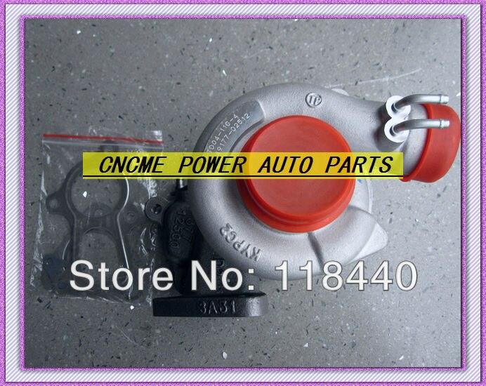 TURBO TD04 11G 49177 02512 49177 02513 28200 42540 49177 07612 Turbocharger For Mitsubishi L200 Pajero GALLOPER 4D56 4D56Q 2.5L
