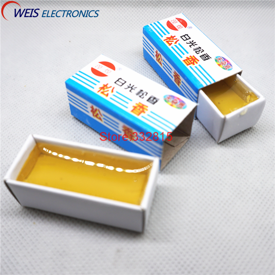 1pcs Carton Rosin Soldering Iron Soft Solder Welding Fluxes , Scaling Powder, Solid Flux 10g Free Shipping