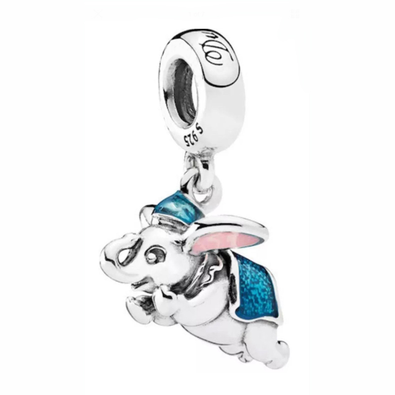 3978451dc Enamel Flying Dumbo Thumper Piglet Baby Treasures Bambi Pendant Charm Fit  Pandora Bracelet 925 Sterling Silver Bead Jewelry-in Beads from Jewelry ...