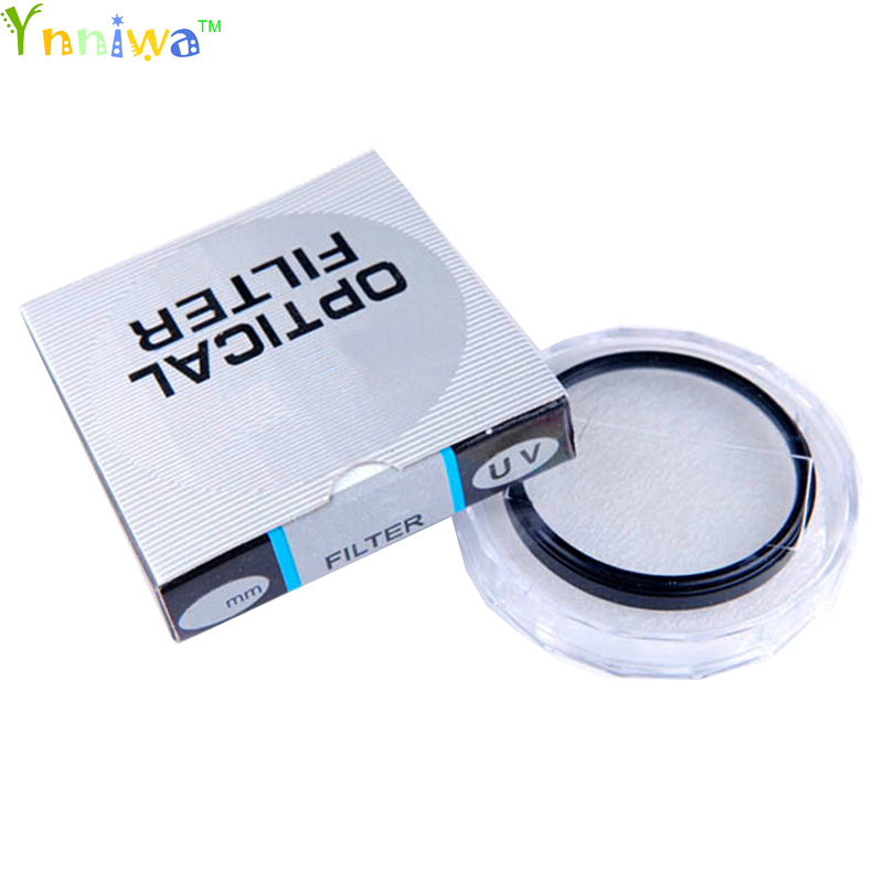 10pcs/lot 37 40.5 43 46 49 52 55 58 62 67 72 77 82mm lens UV Digital Filter Lens Protector for canon nikon DSLR SLR Camera