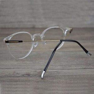 Image 3 - Gmei אופטי במיוחד אור שקוף משקפיים מסגרת עבור גברים ונשים משקפי שמש משקפיים מרשם משקפיים A9084