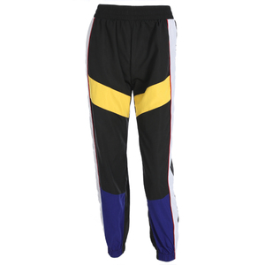 Image 3 - Weekeep Women High Waist Patchwork Pants Black Pencil Pants Streetwear Cargo Pants Loose Jogger Trousers Women 2019 Sweatpants