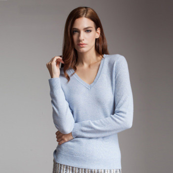 Pale Blue Cashmere Sweater Womens - Sweater Scarf