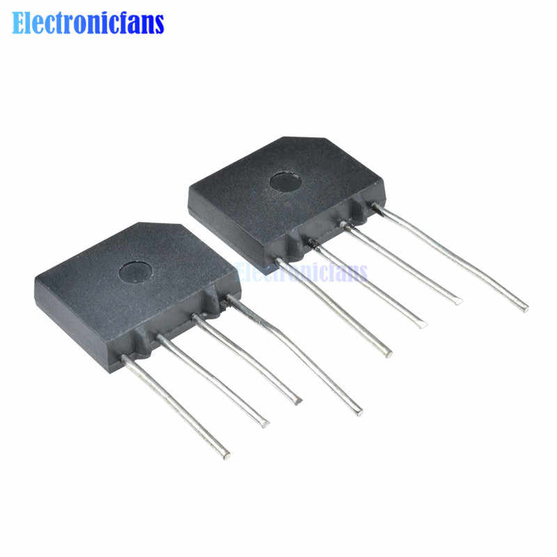 5PCS KBP210 2A 1000V Bridge Rectifier Diode Single Phase Bridge Rectifier