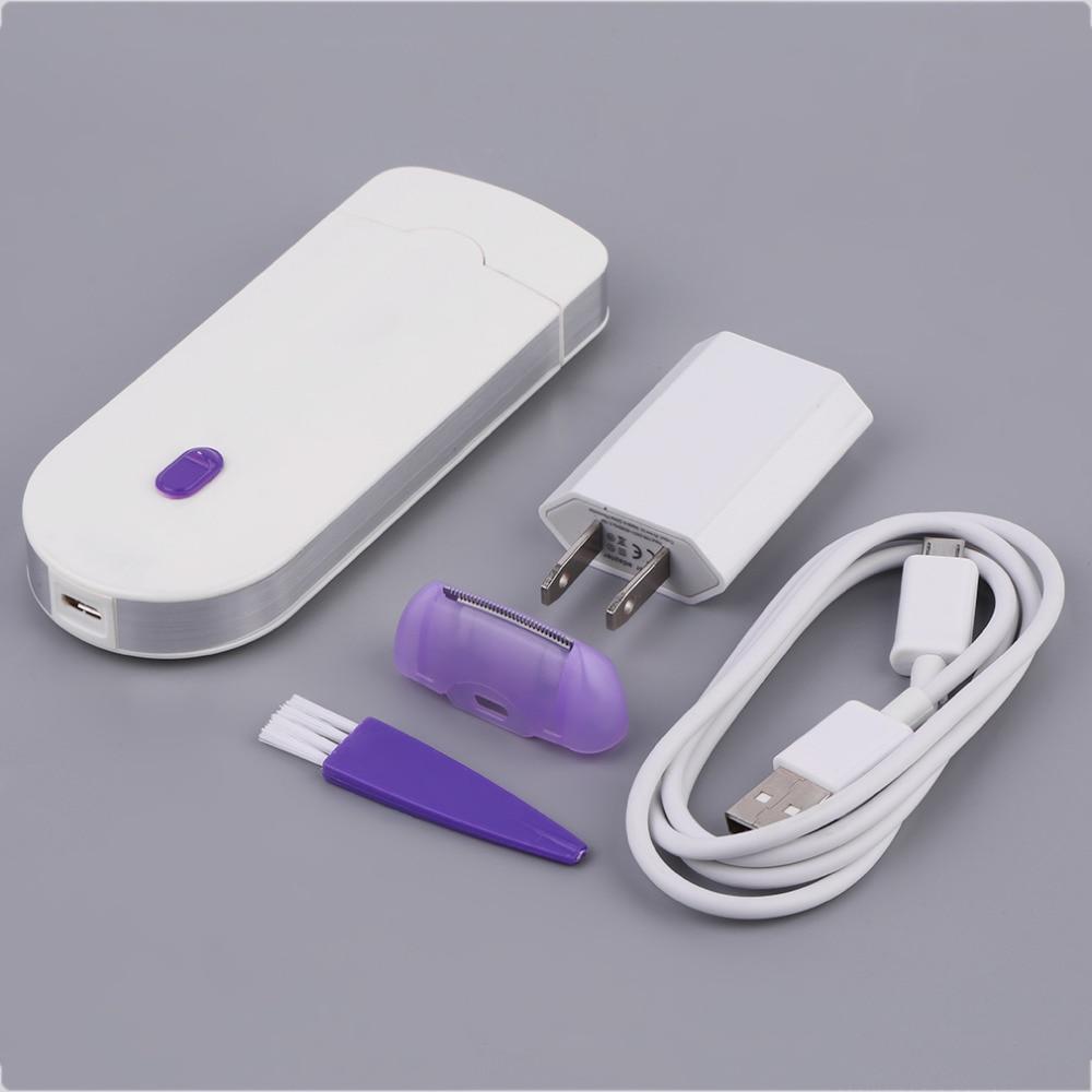 1 pz Hair Remover lady Epilatore Touch Unisex InstantPain Sensa-light di Rimozione di Rimozione Dei Capelli Epilatore Spedizione In Modo Sicuro Rasoio