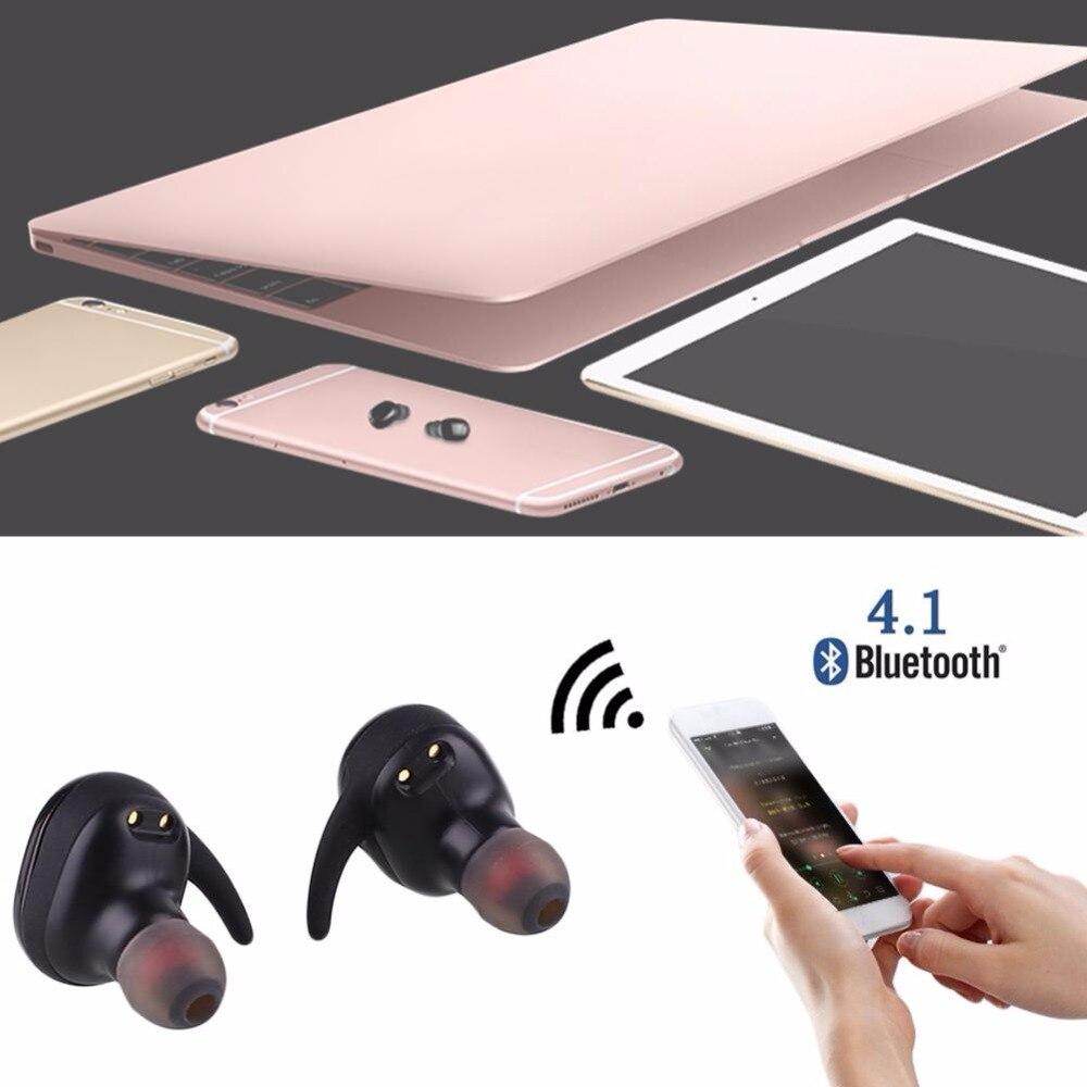 Bluetooth Headset Wireless Touch Type Waterproof Outdoor Multifuntion Black