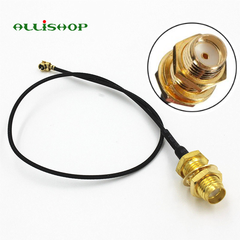 ALLiSHOP 0-3Ghz Wifi router Wireless phone wireless AP Extension pigtail SMA female socket jack to U.FL IPX connector 1.13 cable rp sma female to y type 2x ip 9 ms156 male splitter combiner cable pigtail rg316 one sma point 2 ms156 connector for lte yota