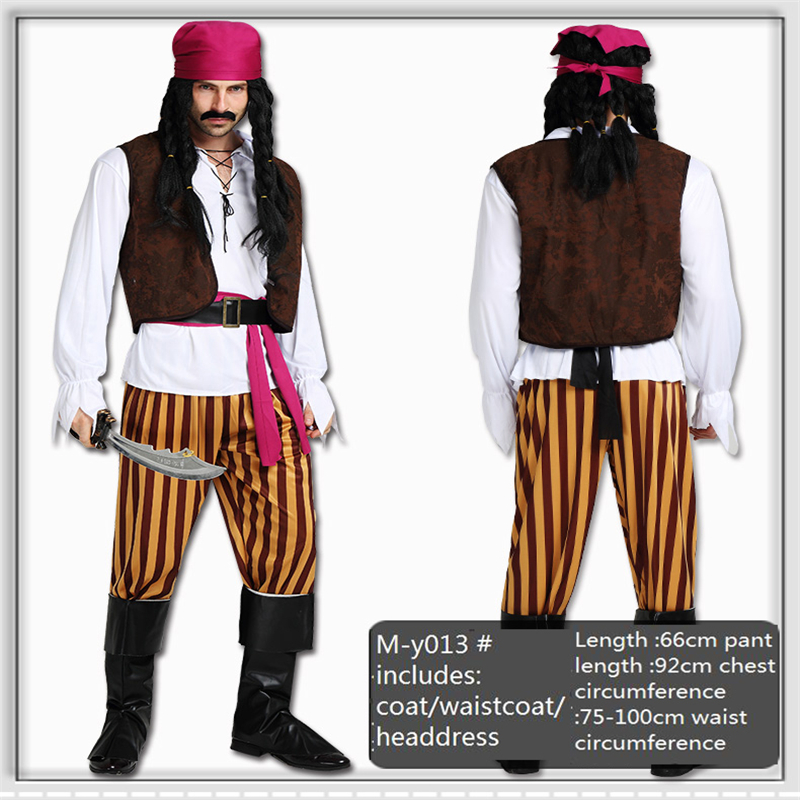Halloween cosplay Pirates of the Caribbean men and women Masquerade A variety of styles Freedom of choice Female Set L0180
