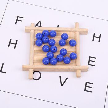 90 Τεμάχια 15 Χρώματα Χάντρες diy Παιχνίδια Μάθησης για Παιδιά Δημιουργία Κολιέ Βραχιόλια Μάθησης