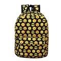 Kawaii Emoji Printing Children Canvas Backpacks School Bags For Teenager Girls Women Casual Laptop Backpack Mochila Feminina