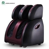 JinKaiRui Household Electric Foot Massager Circulation Massage Airbags Heat Leg Machine Massj Reflexology Health Care Massage