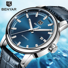 BENYAR Mens Watches Mechanical Automatic Watch Mens Top Brand Luxury Tourbillon Watch Wristwatch Mens Clock Montre Homme 2019