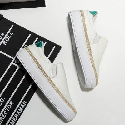 Version Printemps La Femmes 2018 2 Pédale Épais Femelle Coréenne Nouvelle Occasionnels Blanc De Paresseuses Amour Chaussures Sauvage 1 Une 05gxIwpq5n