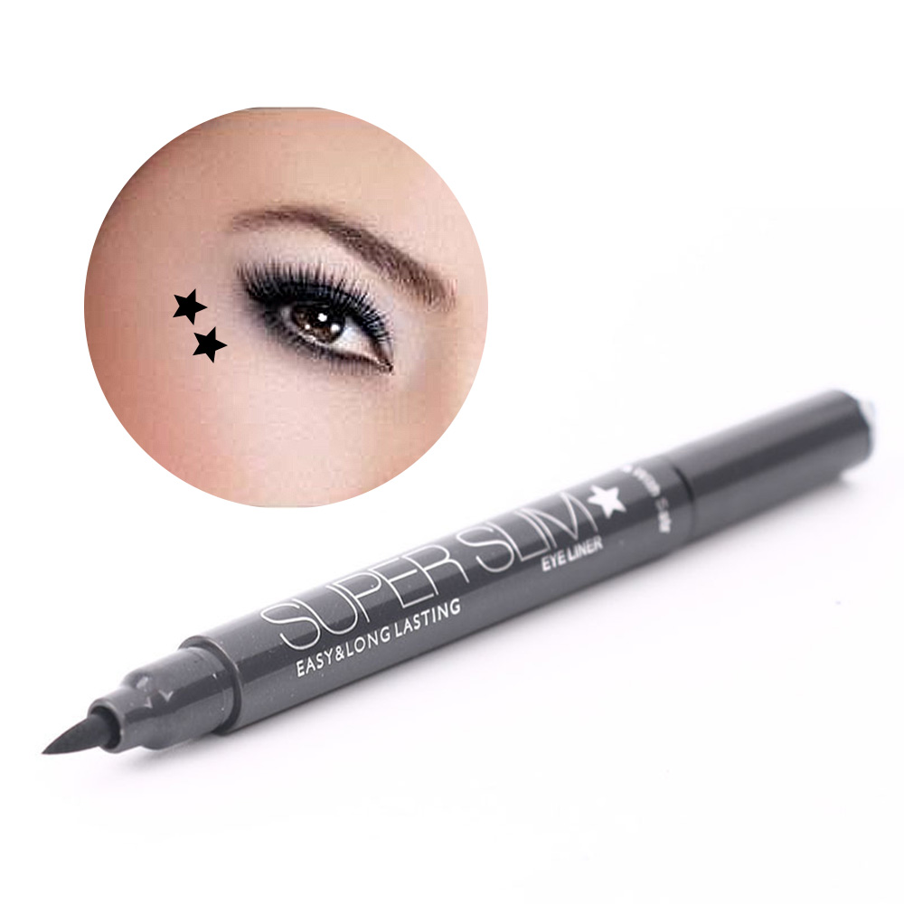 Eyeliner Honesty 1pc Long Lasting Waterproof Eyeliner Double Head Wing Shape Liquid Eyeliner Seal Stamp Pencil Cat Eye Makeup Tool Maquiagem Back To Search Resultsbeauty & Health