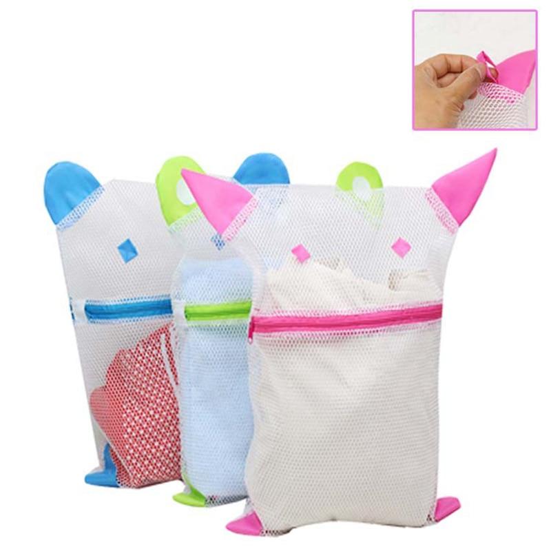 1pcs Underwear Clothes Bra Bag Folding Mesh Wash Bag Rangement Multifunction Laundry Basket For Washing Machine Bolsa Ropa Sucia