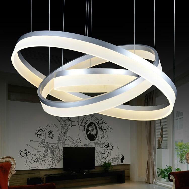 Hot Sale LED Pendant Lamp D20*40*60cm Ring Light Modern