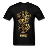 Футболка Gauntlet Like A Glove, Мужская футболка высокого качества, футболка «мстители», топы с короткими рукавами на День отца, 100% хлопок, одежда Thanos