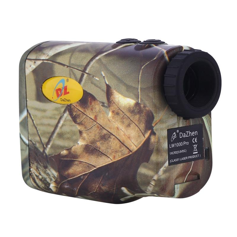 600M Waterproof Shockproof Camouflage Hunting Laser font b Rangefinder b font Golf Flagpole Lock Distance Measuring