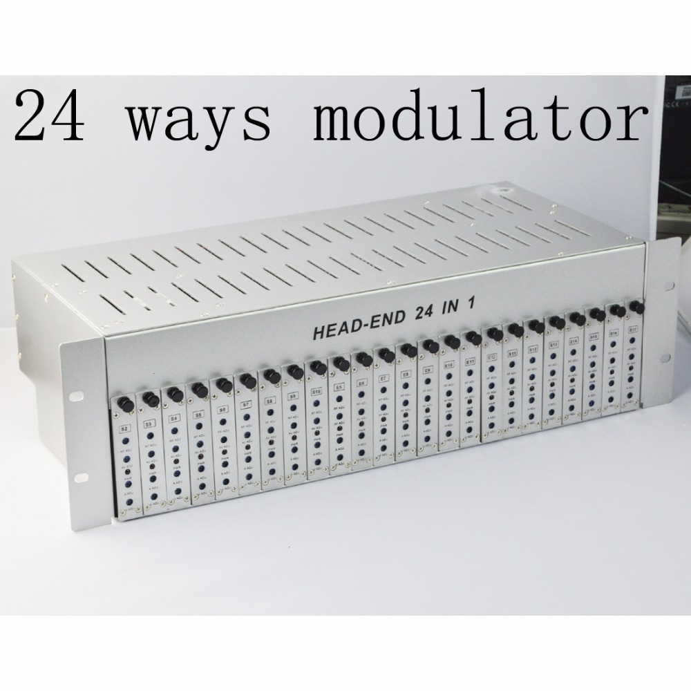 sk 24m 24 in 1 catv headend adjacent modulator catv modulator for hotel school [ 1000 x 1000 Pixel ]